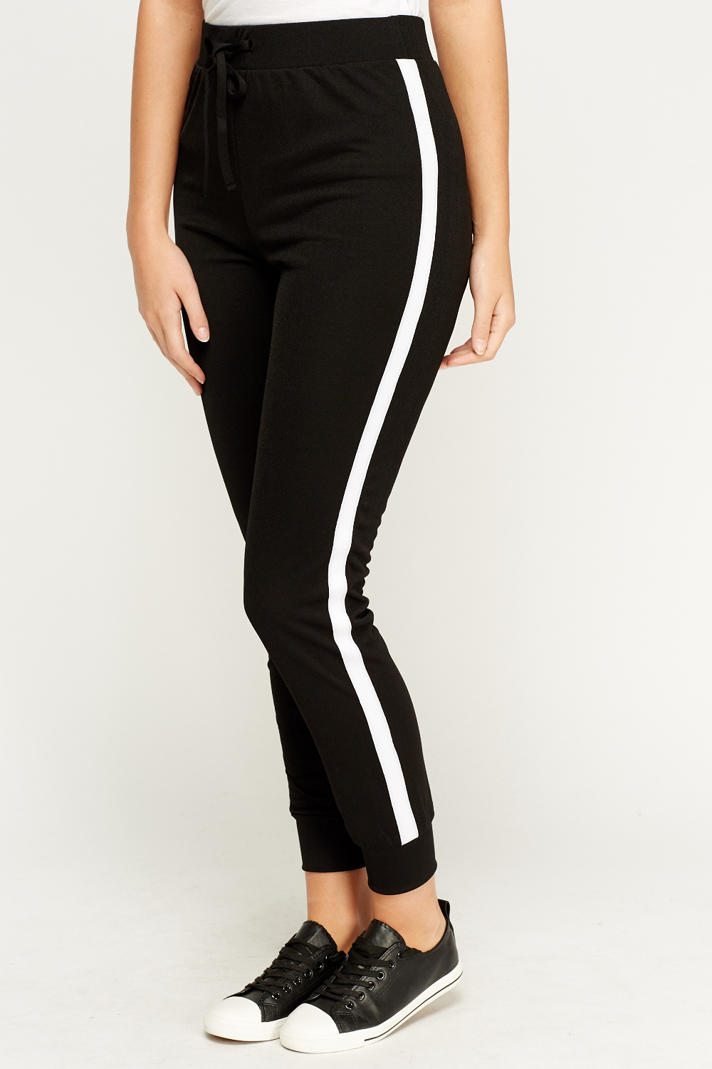 Skinny Fit Side Stripe Joggers  Just 5