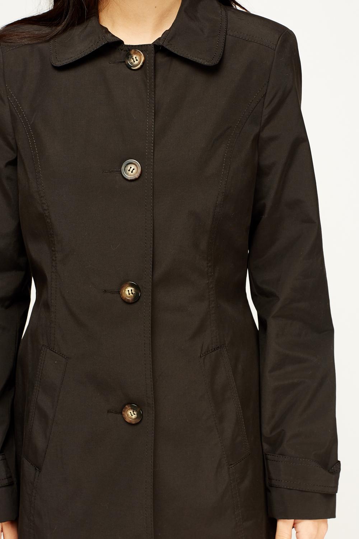 Black Mac Coat  Just 5