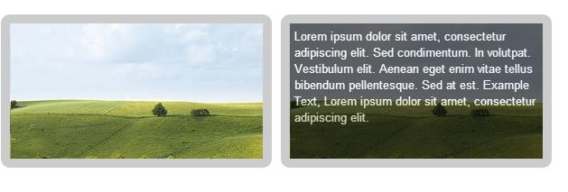 image rollover text effect