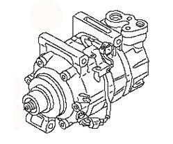 AC COMPRESSOR 92600-ES60B 92600-ES60A NISSAN X-TRAIL