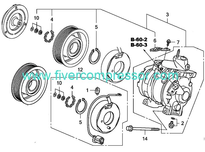 2000 Honda Civic Parts Diagram. Honda. Wiring Diagram Gallery