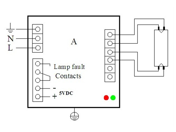 Voltage Output Electronic Ballast Wiring Diagram 277v