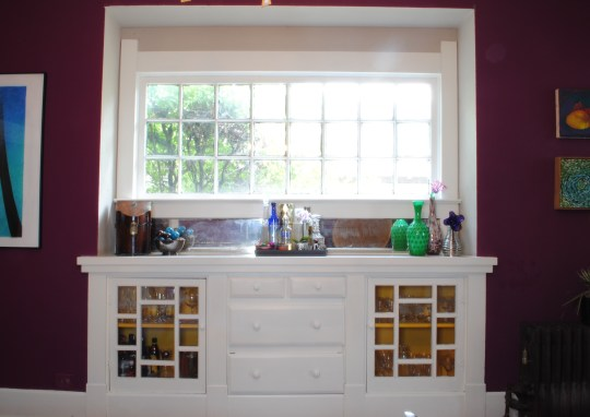dining room buffet after