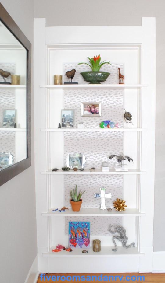 pretty bookcase