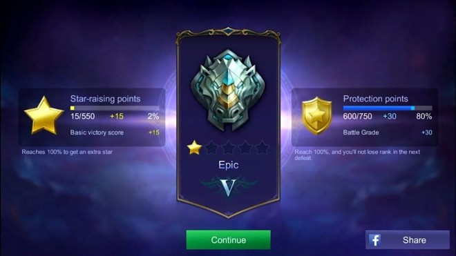 help you to get epic division in mobile legends bang bang