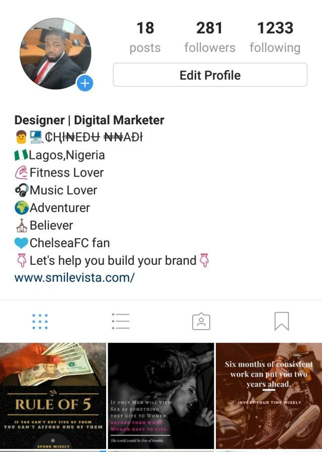 Models Instagram Bio - HD Modello