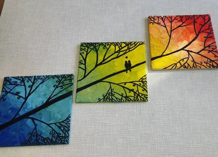 make ceramic tile painting for you by