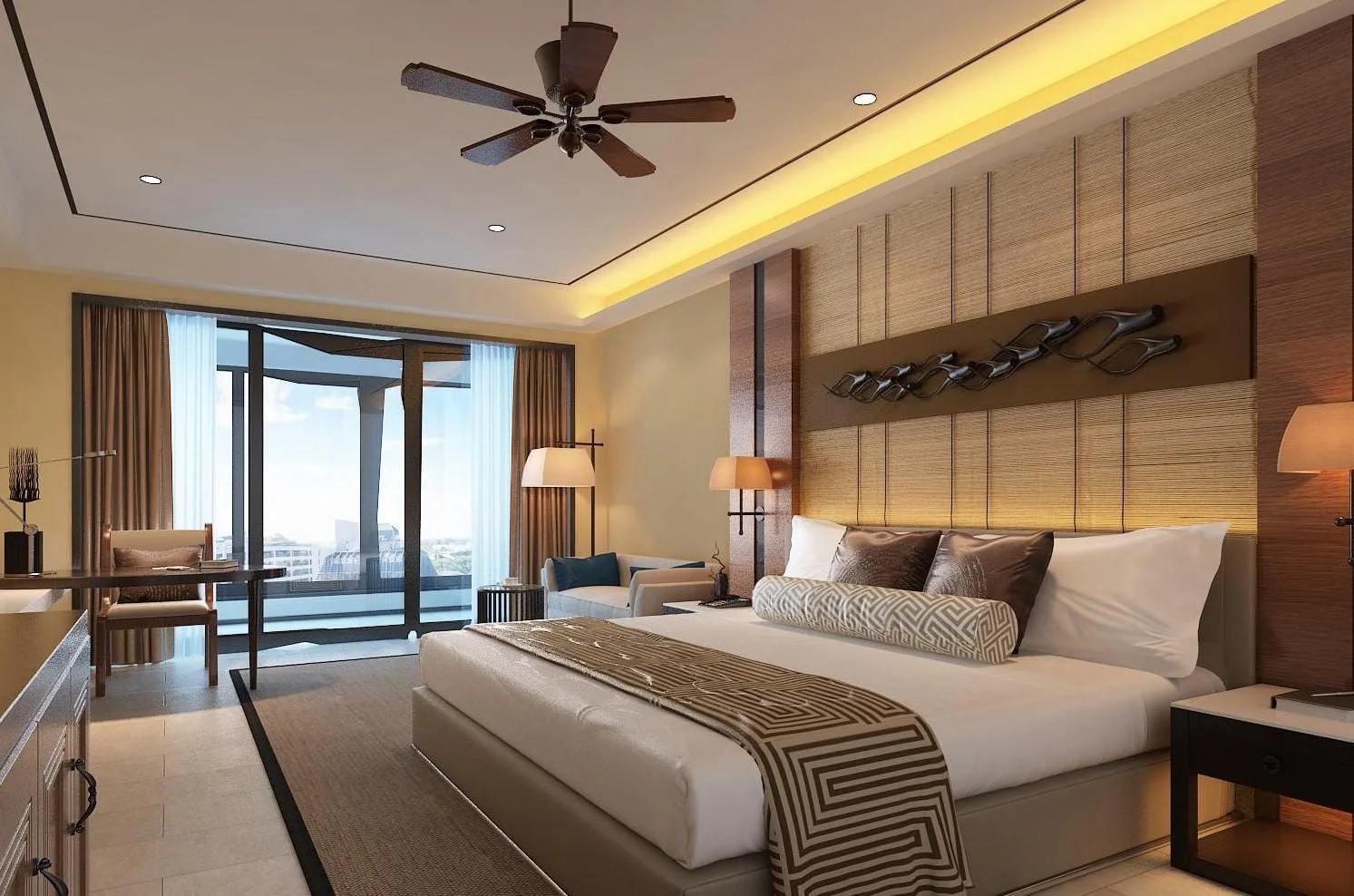 Draw 2d Plan And 3d Interior Bedroom Design By Naimslm