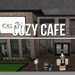 Bloxburg I Make Cute Cafes Super Detailed And Modern By Savannah Playz