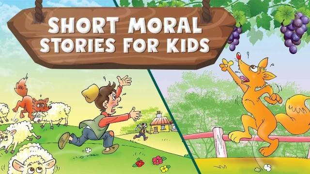 Write 23 pages moral stories for kids by Azim23  Fiverr