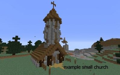 Make a beautiful church for you by Jelleol