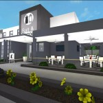 Build A Restaurant In Roblox Bloxburg By Roblox Crafts