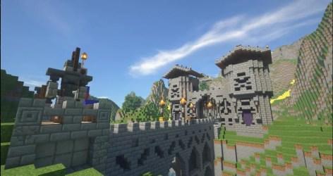 Create you a big medieval minecraft city by Premmetjes