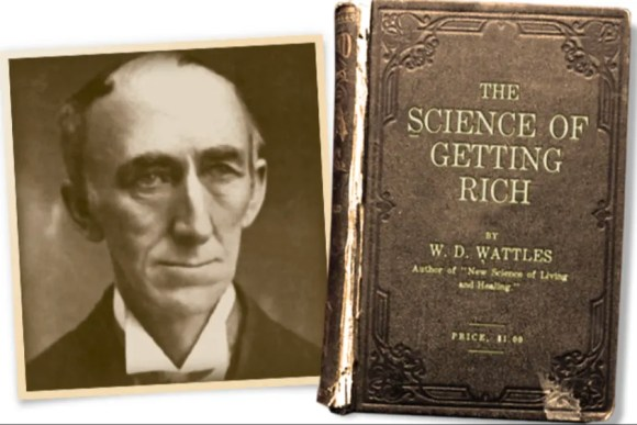 give you The Science Of Getting Rich by Wally Wattles