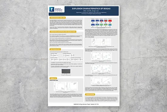design your research academic or conference posters