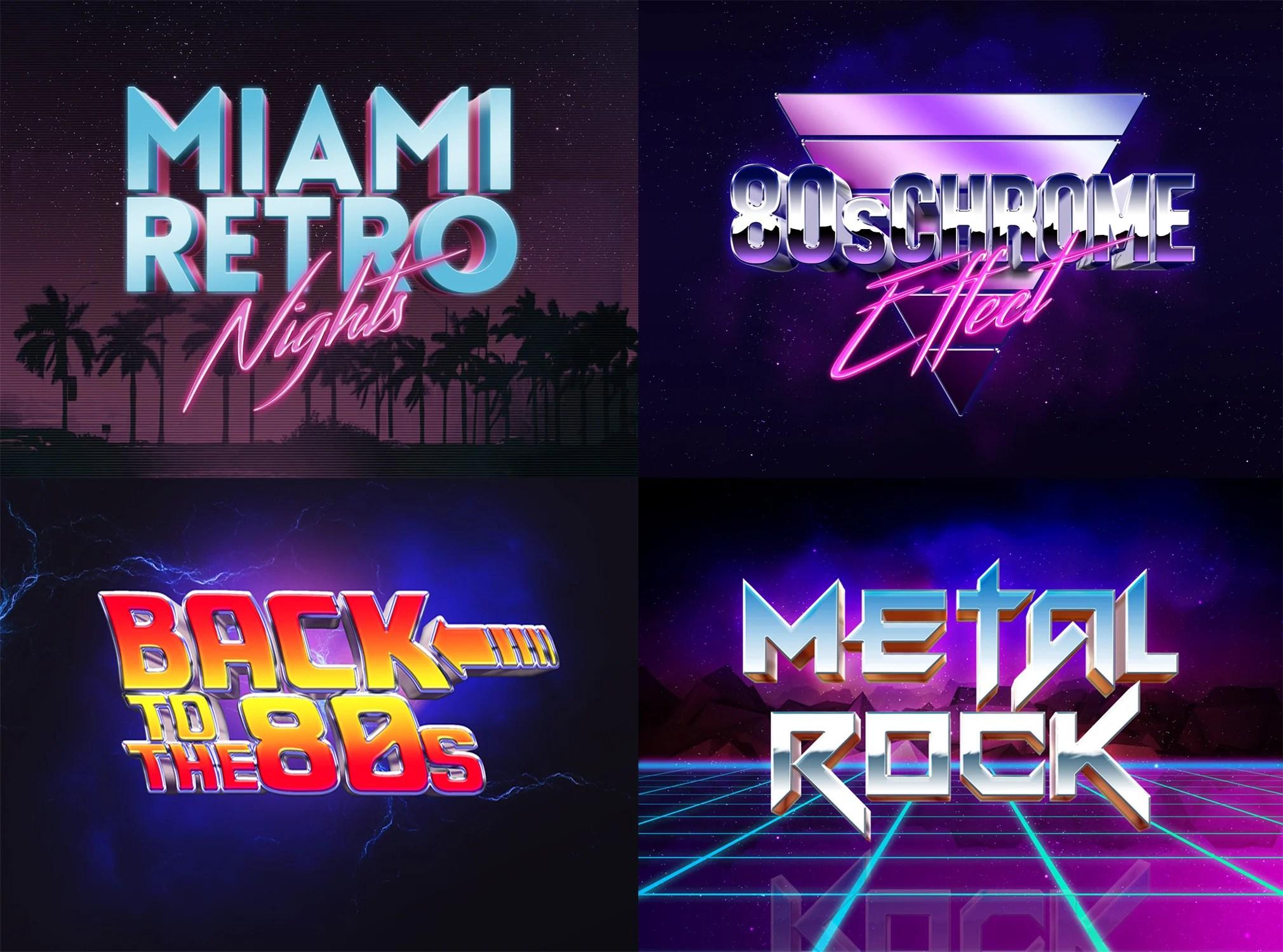 Design 80s Retro Vintage Style Logo By Aid3lis
