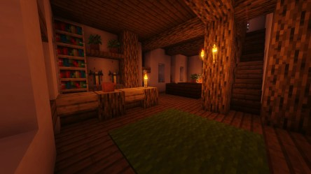Minecraft house builder varying from medieval fantasy to modern housing by Boijer