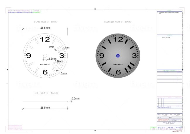 Make any of your scetch in autocad drawing by Ivosb2012