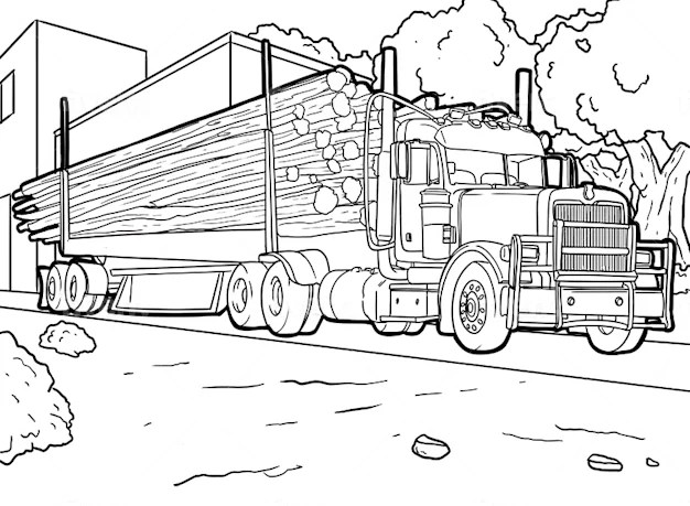 Draw ANY line art coloring book pages Fiverr