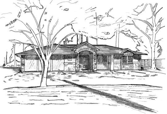 Make a kick ass architectural hand sketch by Affordableideas