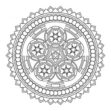 Create 4 colorful mandalas for you by Varun1912
