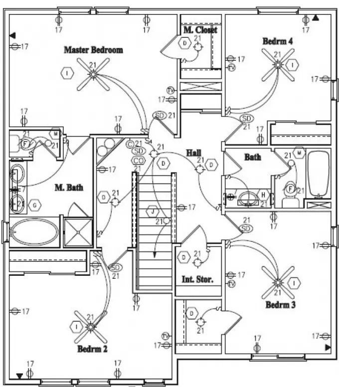 Design floor plans, electrical, plumbing drawings in
