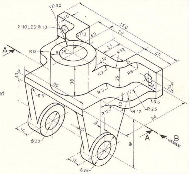 Make mechanical drawing and architectural drawing using