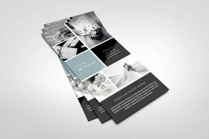 design a creative rack card by