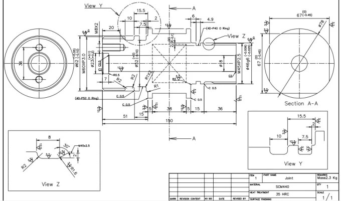 Design 3d cad model and 2d mechanical drawings by
