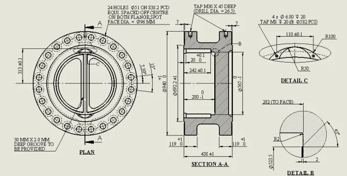 Create 2d mechanical drawings by Rishabh_28