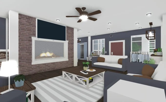 Living Room Ideas On Bloxburg Jihanshanum