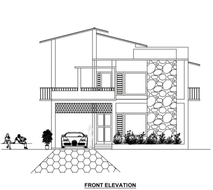 Design your dream house plan and 2d drawing by Sthouseplan