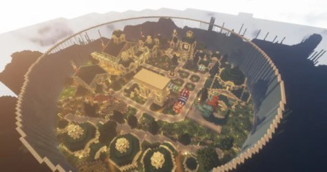 Build any kind of building or village for you in minecraft by Dmercier