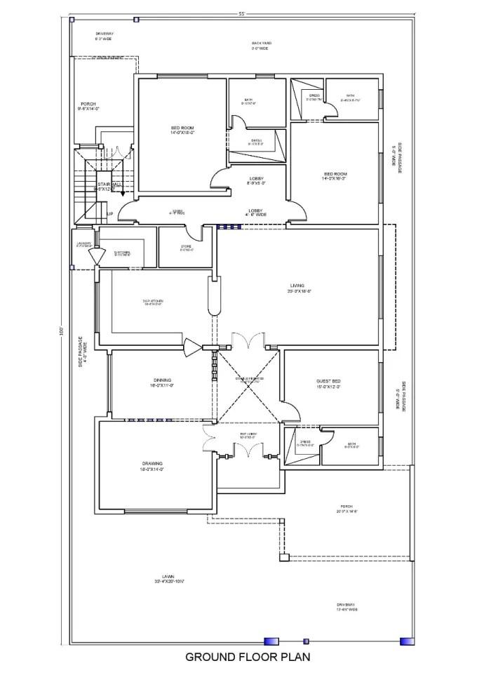 Design floor plan elevations 2d 3d in autocad in 24 hours