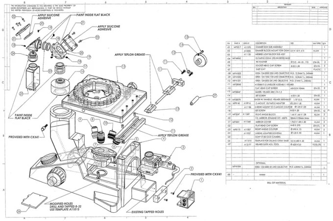 Create models and manufacturing drawings for machine