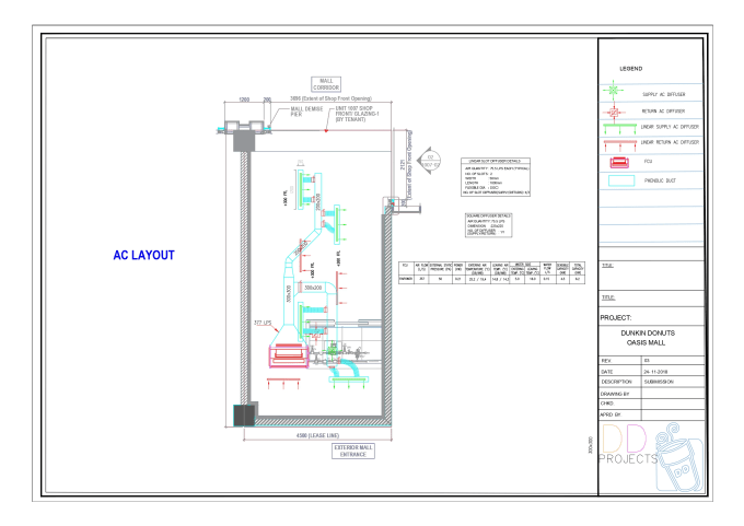 Draw hvac, plumbing, electrical, hap calculation by Jashim_a1