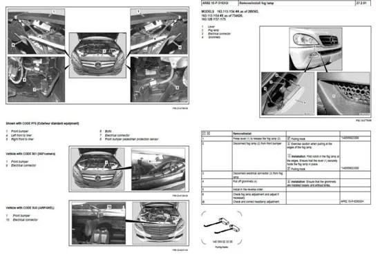 Send you a mercedes service workshop manual pdf by Errami36