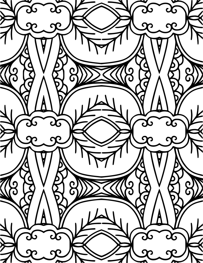 Give you 60 to 150 printable coloring book pages designs