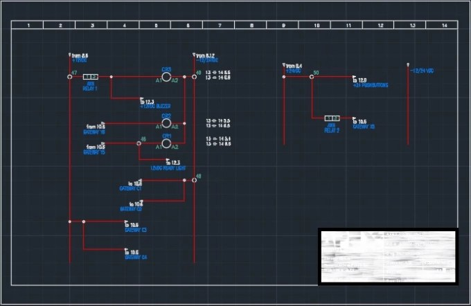 Electrical Drawing On Autocad