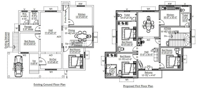 Design your house plan in autocad and revit by Bemanoj1994