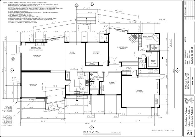 Draw 2d architectural plan on autocad by Michelrenard
