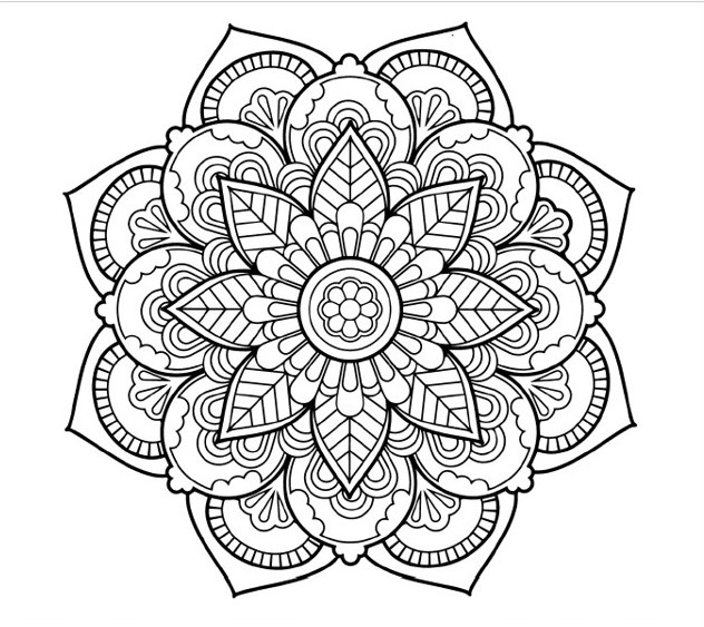 Send you a pdf file of 10 colouring mandalas by Jubass