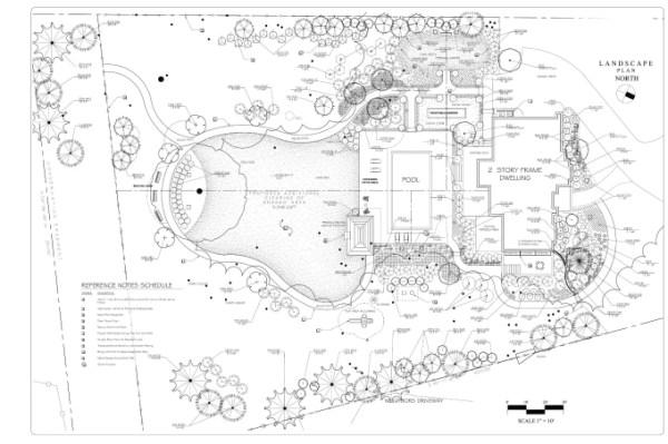 design 2d architectural site