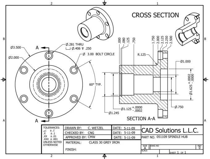 Overview technical drawings for production by Marekq