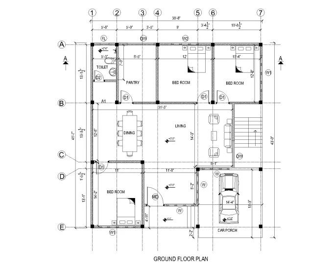 Do design floor plan,site plan 2d or 3d in autocad,revit