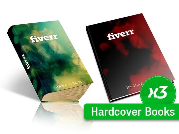 create three 3d covers