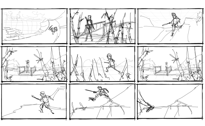 Draw storyboard for film animation and commercial by Umunhum