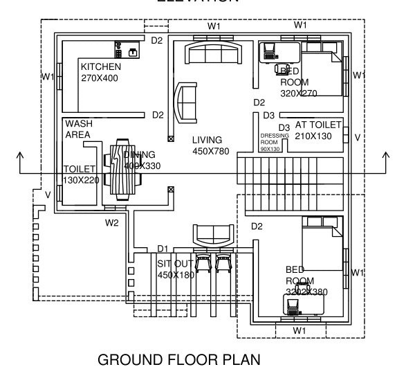 Do autocad drawing, floor plans, elevations, sections by