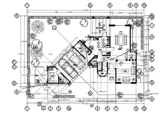 Create architectural and engineering drawing in autocad by