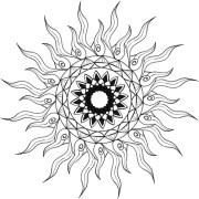 draw simple mandala design